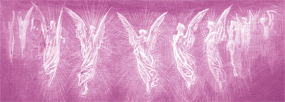 Archangel Chamuel pink angels