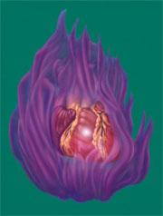 spiritual healing methods, violet flame