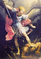 Archangel Michael in spiritual warfare
