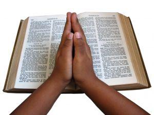 Being in spiritual prayer